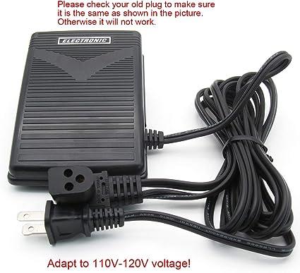KUNPENG -1 piezas 3 Prong Cable Pedal Pedal Control Control ajuste ...