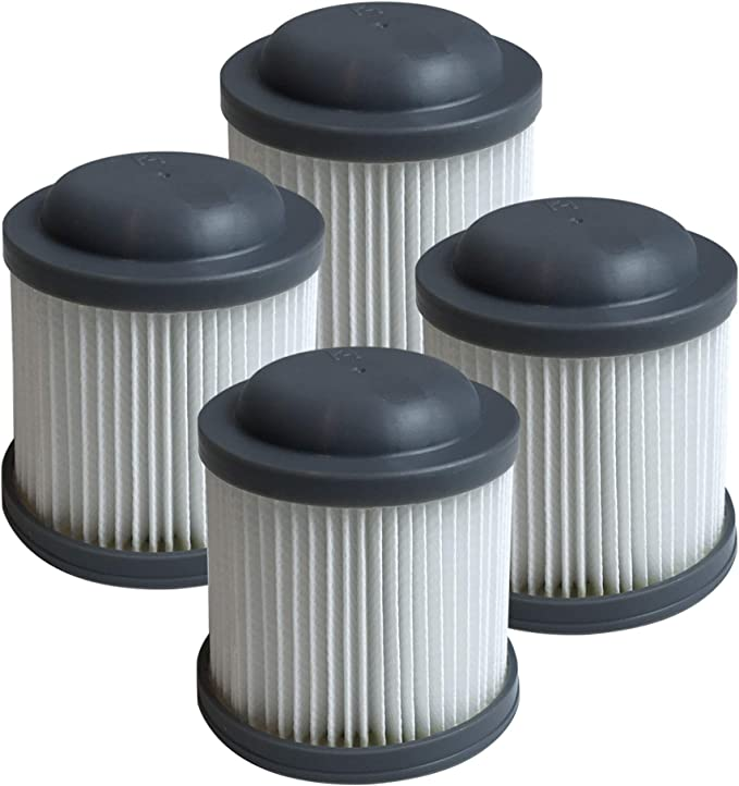 Think Crucial Replacement Vacuum Filters Compatible With Black And Decker Vacuums Washable And Reusable Filter Part Parts Vf100 Vf100h Fits Model Pvf110 Phv1210 And Phv1810 Bulk 4 Pack Appliances