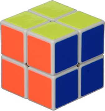 2 x 2 x 2 Shengshou Cubo Blanco de Aurora Velocidad Rompecabezas ...