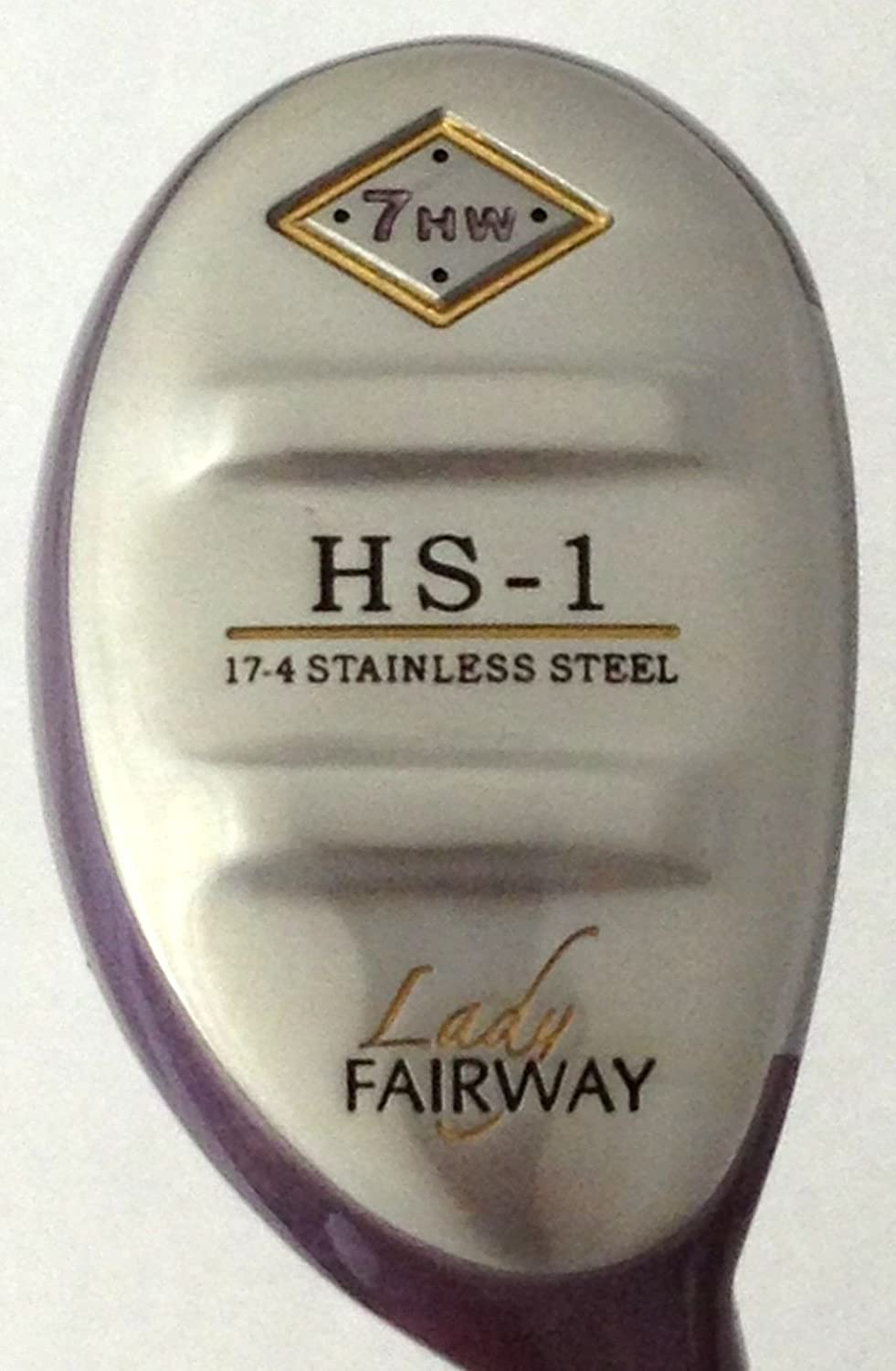 Amazon.com: Lady Fairway HS-1 7 HW Hybrid Fairway Madera ...