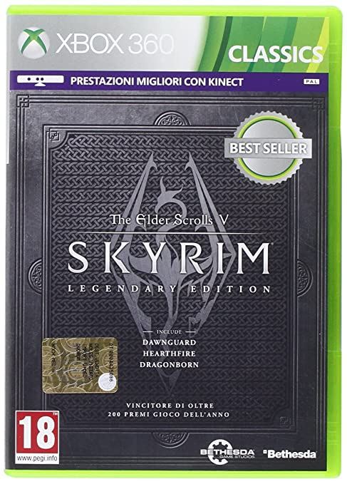 37 opinioni per The Elder Scrolls V: Skyrim Legendary Edition- Classics- Xbox 360