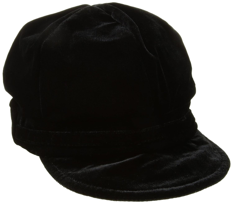 Nine West Women's Velvet Newsgirl Hat Black One Size Nine West Accessories N109-001