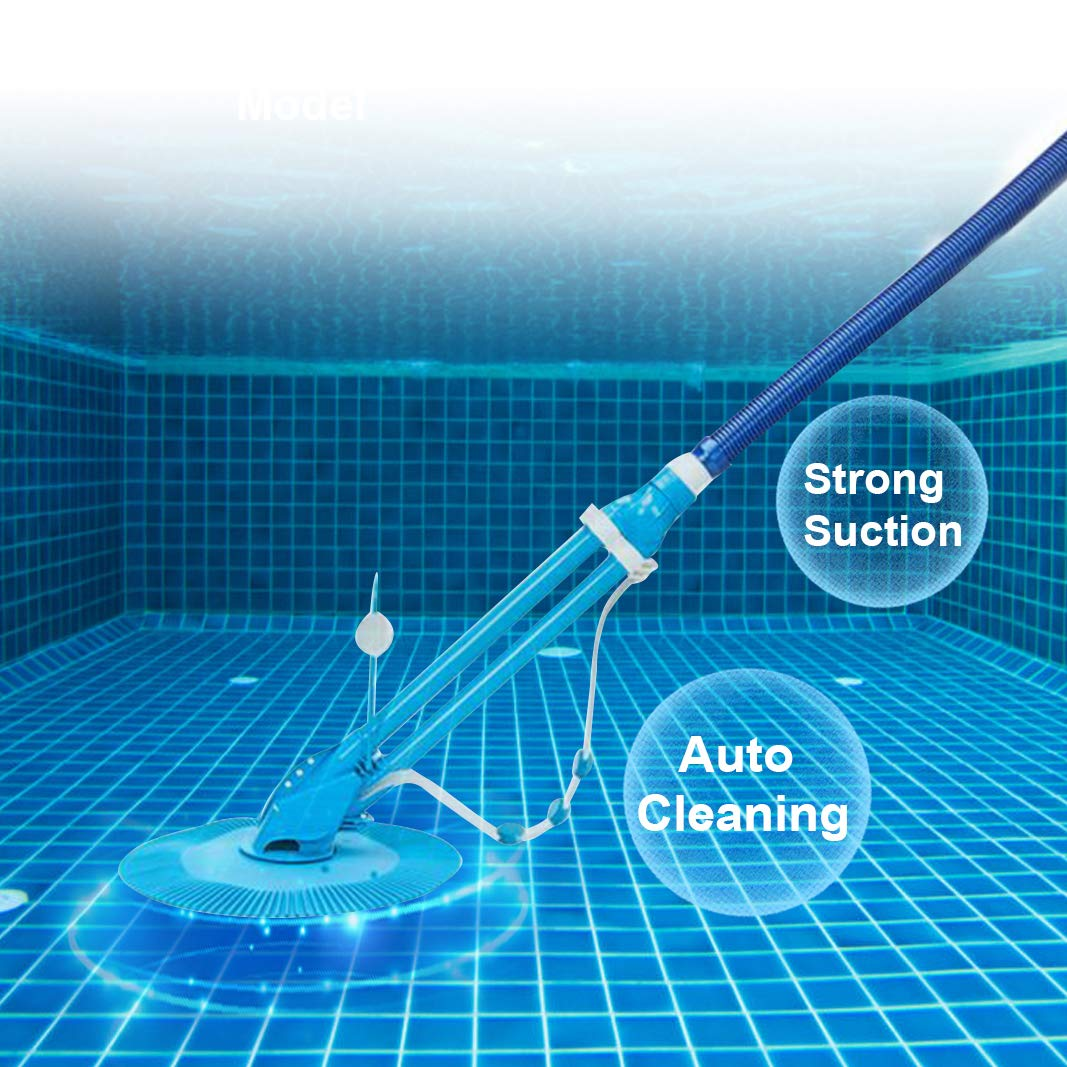 MTFY Automatic Pool Cleaner Suction Swim Pool Vacuum by MTFY