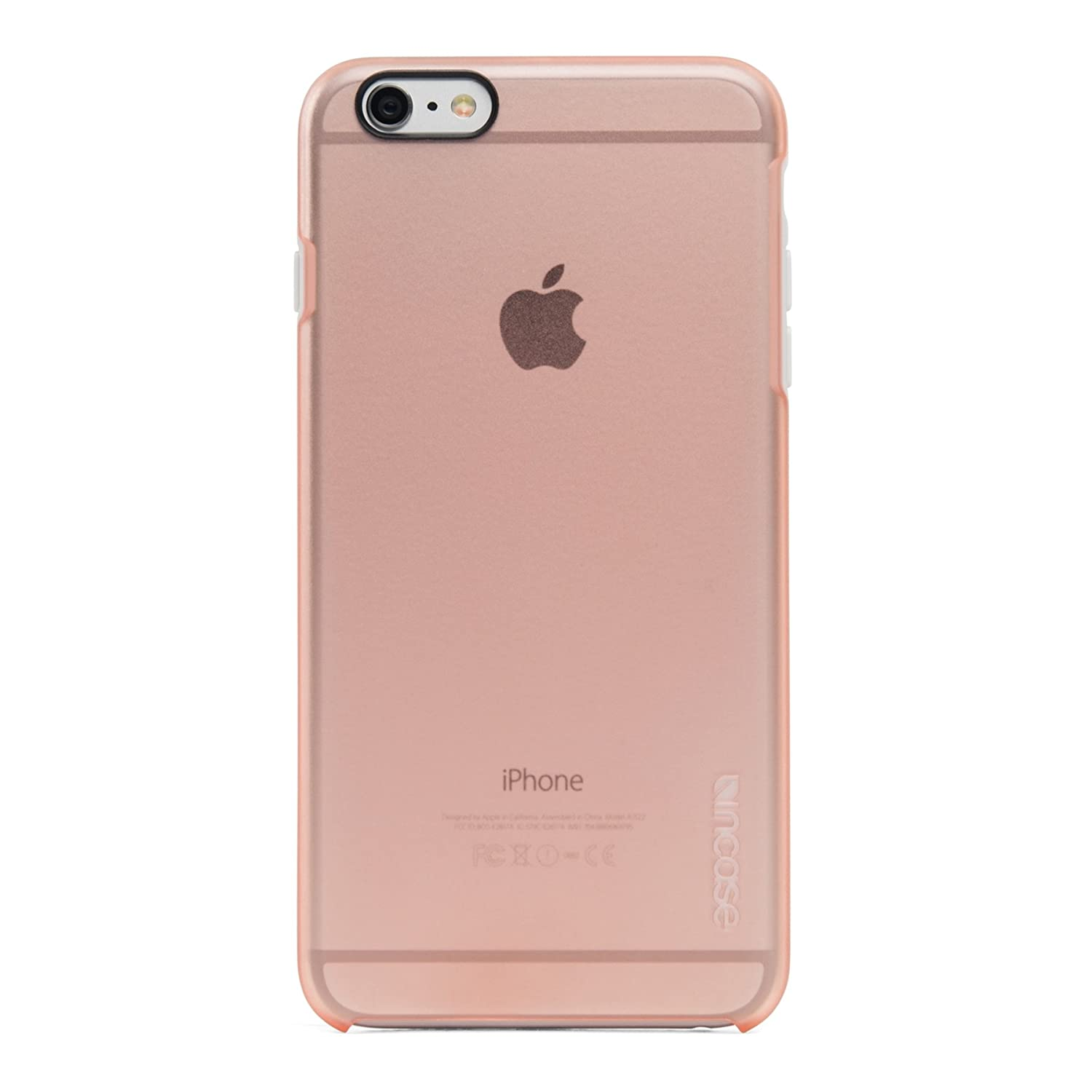 27875a95df1 Amazon.com: Incase Halo Shell Case for iPhone 6s/6 (Rose Quartz - INPH14067- RSQ): Cell Phones & Accessories