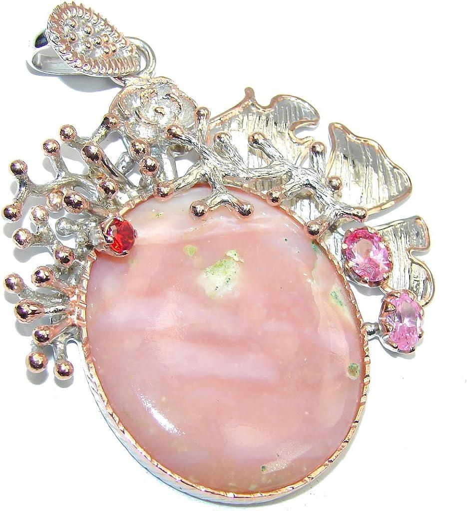 FREE GIFT BOX Opal Women 925 Sterling Silver Pendant