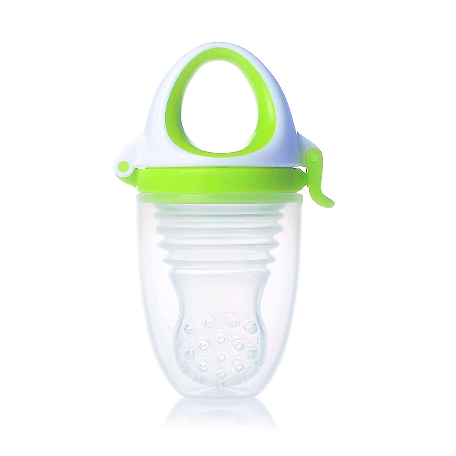 Kidsme Food Feeder Plus Lime, X-Large, Green