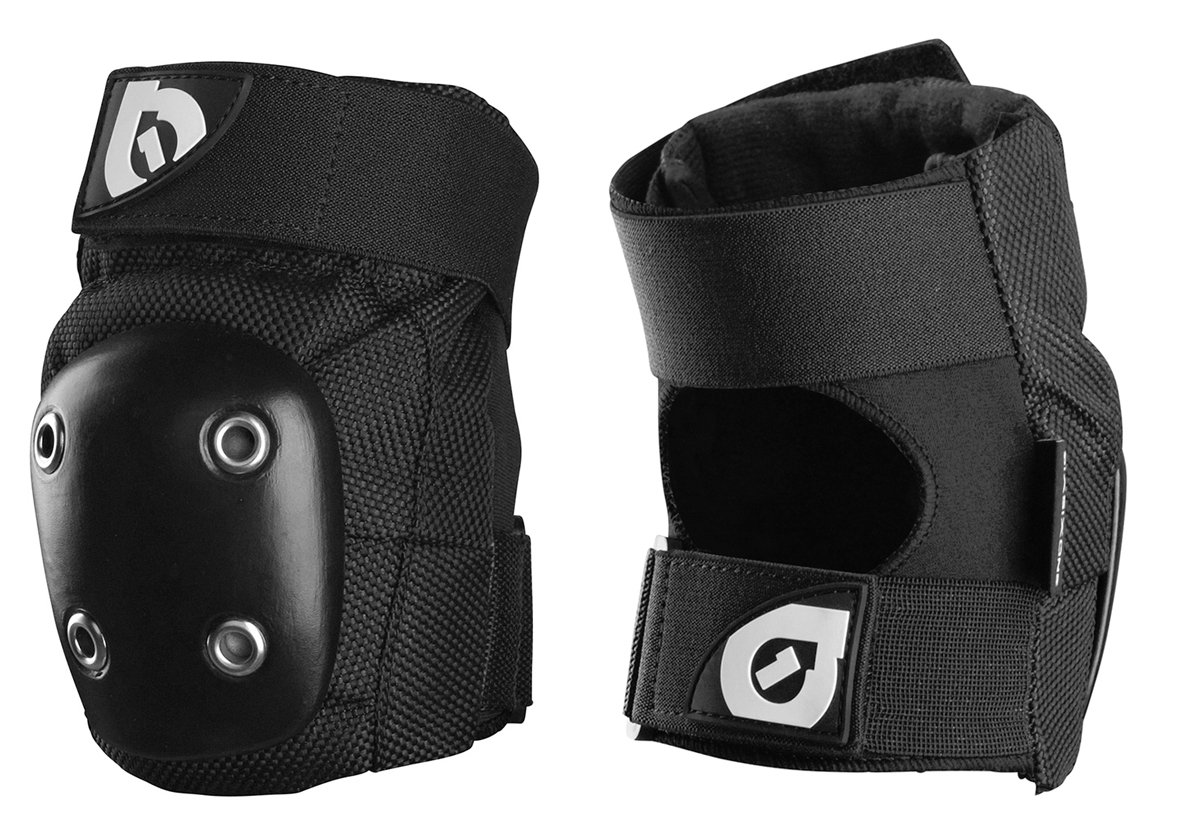 six six one DJ Elbow Guard (Black, Large)