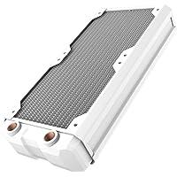 Hardware Labs Black Ice Nemesis GTR Satin White Radiator (240mm)