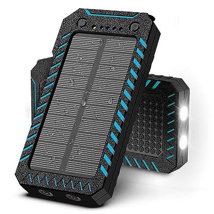 Amazon.com: X-DRAGON Cargador Solar 15000mAh ...: Home Audio ...