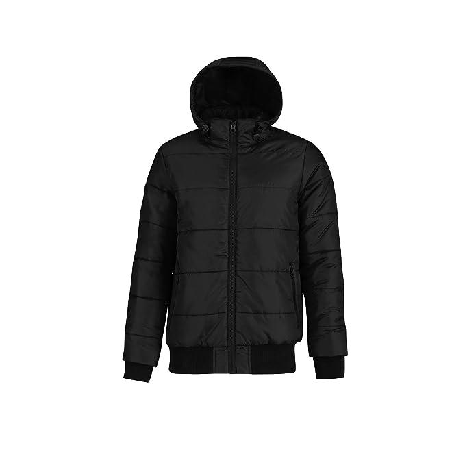 b60ba64f5 Amazon.com: B and C Mens Superhood Padded Bomber Jacket: Clothing