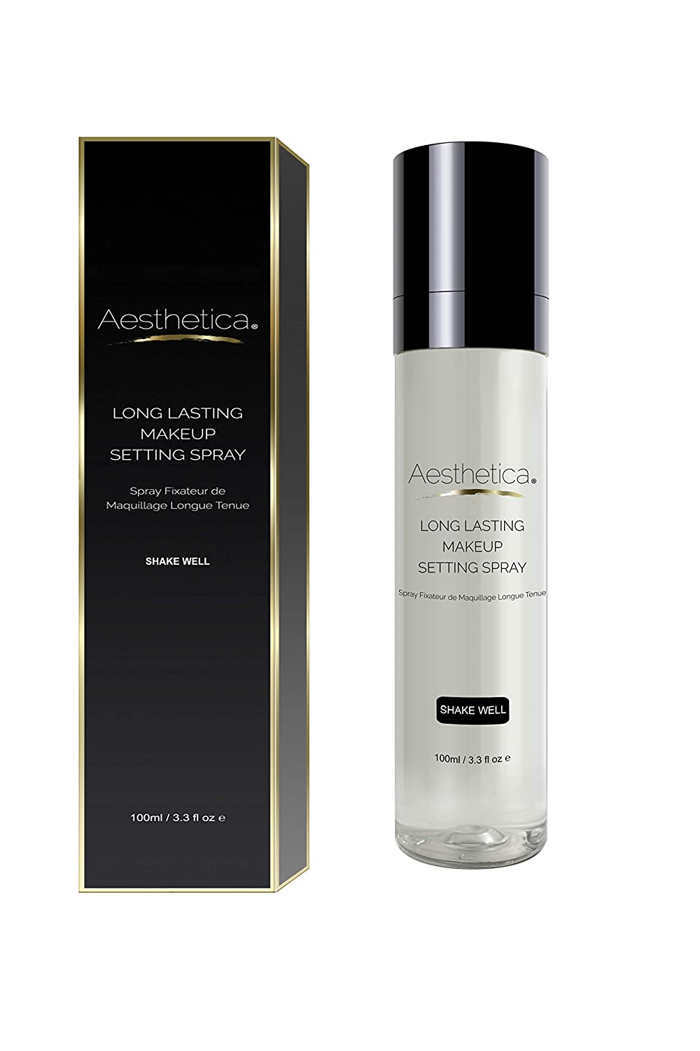 Aesthetica Long Lasting Makeup Setting Spray - Invisible Matte Setting and Finishing Spray with a Weightless Feel - All Day Wear