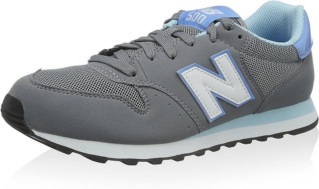 New Balance Damen GW500GB Sneaker, grau/blau, 39 EU: Amazon ...