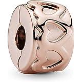 Pandora Women Pandora/781978/Charms/Rose, Cubic Zirconia - 781978