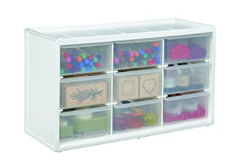Amazon.com: ArtBin Store-In-Drawer Cabinet; 9 Art and Craft Supply ...