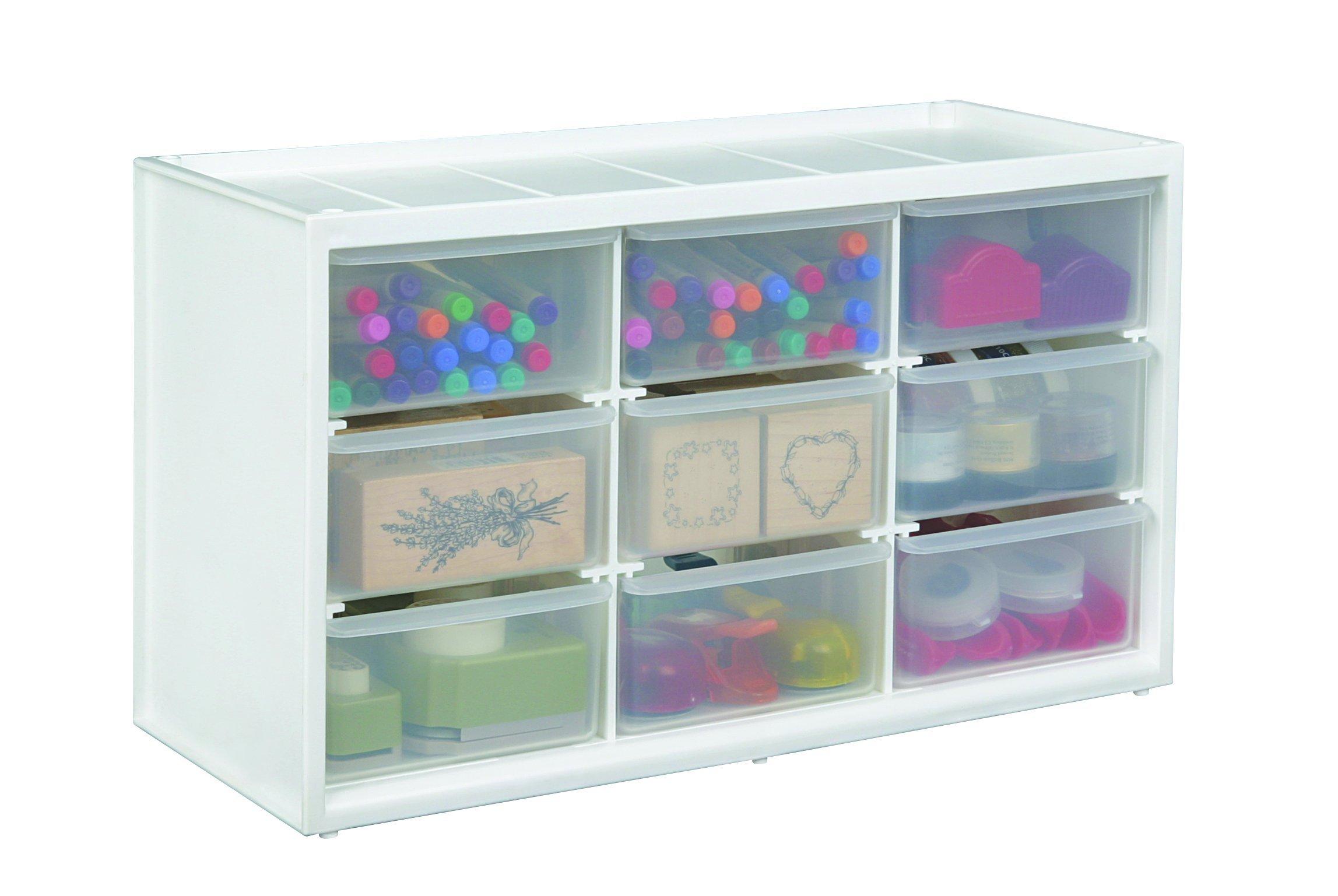craft storage drawers. Black Bedroom Furniture Sets. Home Design Ideas
