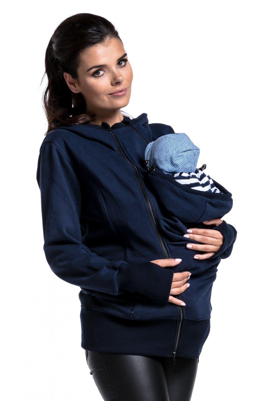 Zeta Ville - Umstand Sweatshirt Babytragens herausnehmbaren Panel - Damen - 430c carrier_top_430