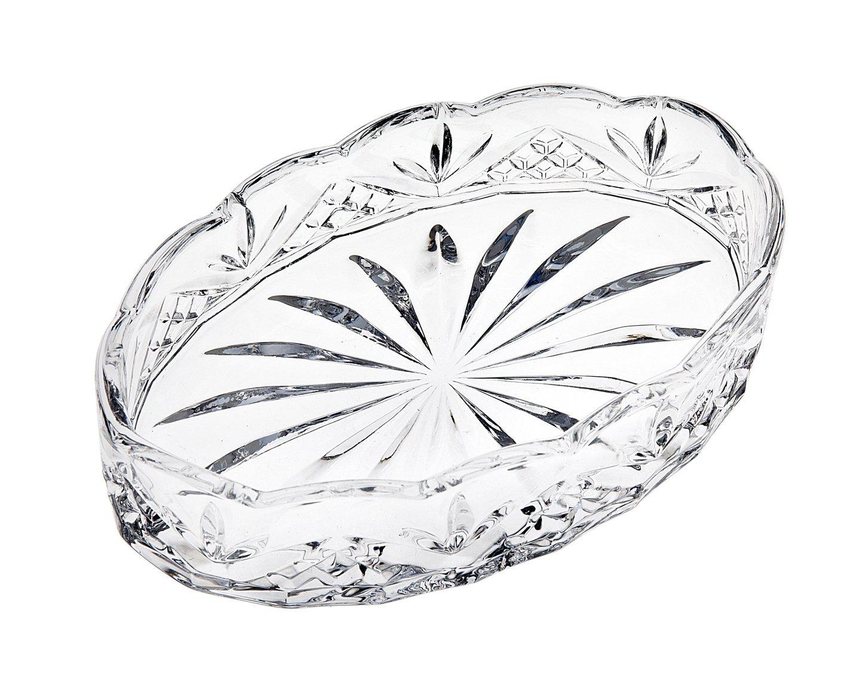 Godinger Dublin Crystal Soap Dish Godinger Silver Art 5842373