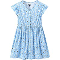 Sofinee Place Girls Casual Dresses Short Sleeve Or Sleeveless Clothes for Toddler Kid( 3 Years to 12 Years