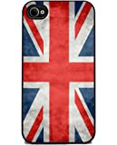 Union Jack British Flag - iPhone 4 or 4s Cover, Cell Phone Case