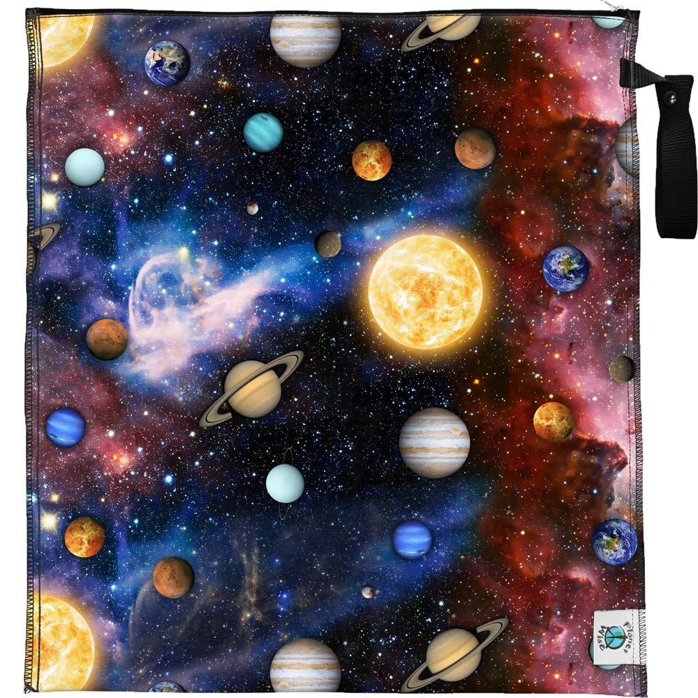 Lite Wetbag Planet Wise - Gr/ö/ße L Farbe Celestial Sea Windelsack /& Nasstasche