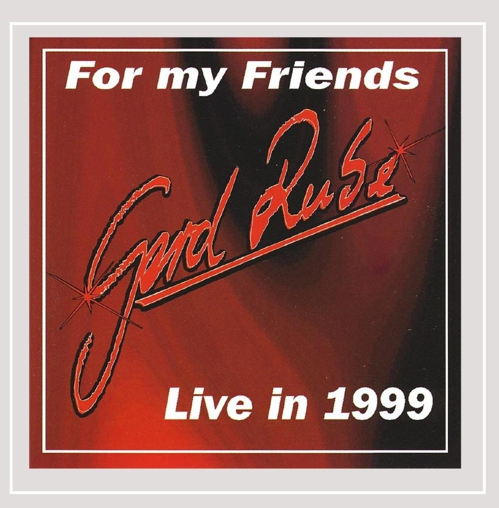 Gerd Rube - For My Friends-Live in 1999 (CD)