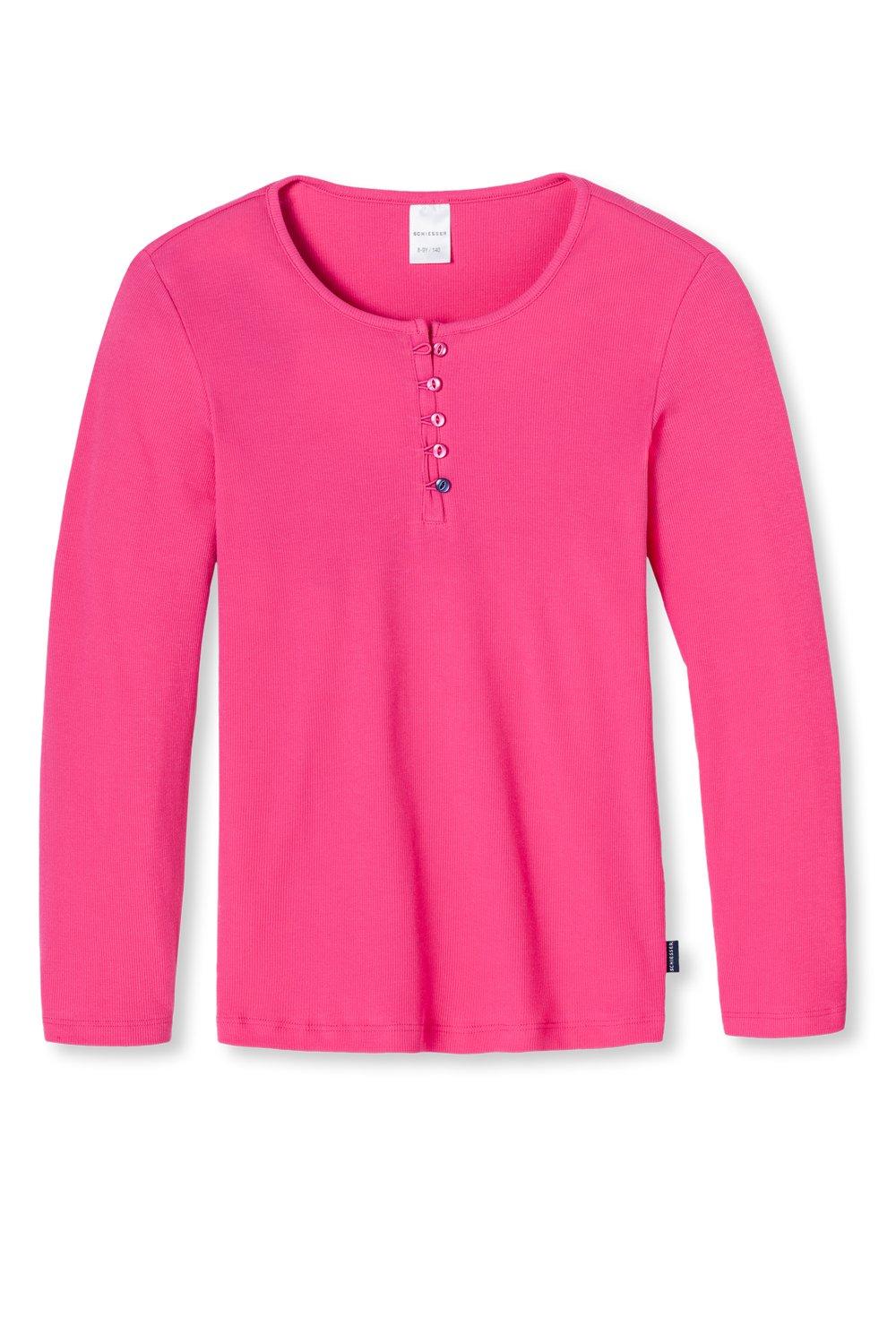 Schiesser Mädchen Schlafanzugoberteil Shirt 1/1 Mix & Relax Schiesser AG 146019