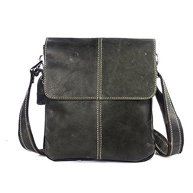40b77fcc9eff Image Unavailable. Image not available for. Color  Genuine Leather Men Bag  Fashion Leather Crossbody Bag Shoulder Men Messenger Bags Designer Handbags  ...