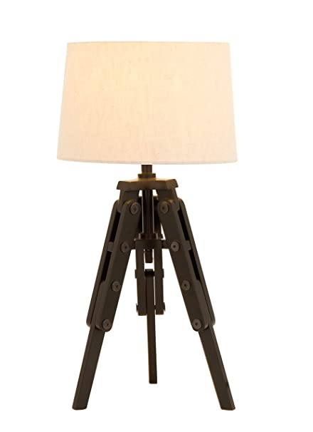 Amazon deco 79 67676 old world table lamp with tripod from deco 79 67676 old world table lamp with tripod from nostalgic silent film era aloadofball Image collections
