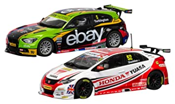 Scalextric – c3694 a – Coffret – 2 Coches BMW 125 Serien 1 & Honda Civic