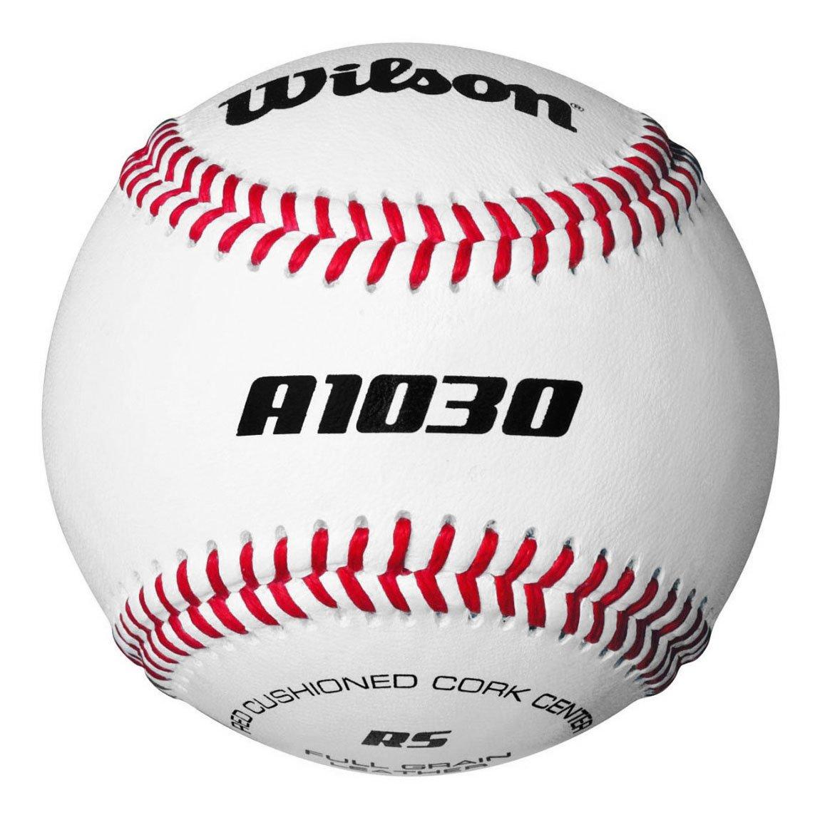 Bola de Bé isbol Oficial de la Liga Costura Resaltada Wilson A1030