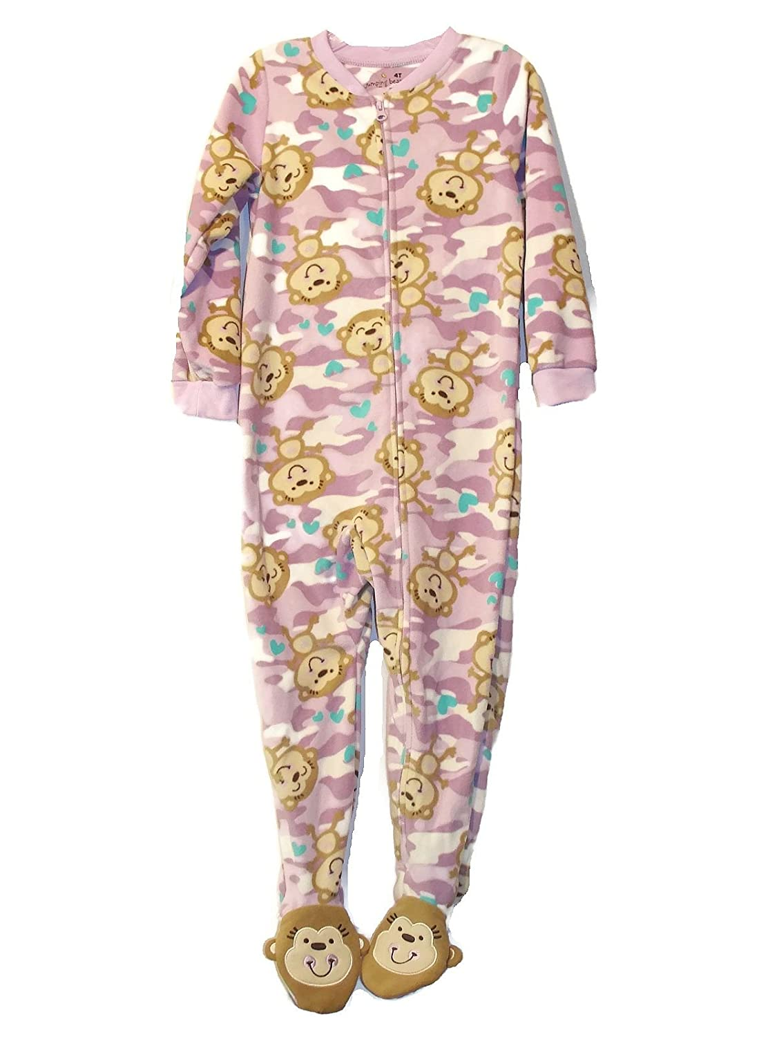 cc71de140 Amazon.com  Jumping Beans Toddler Girl s 4T Purple Camouflage Monkey ...