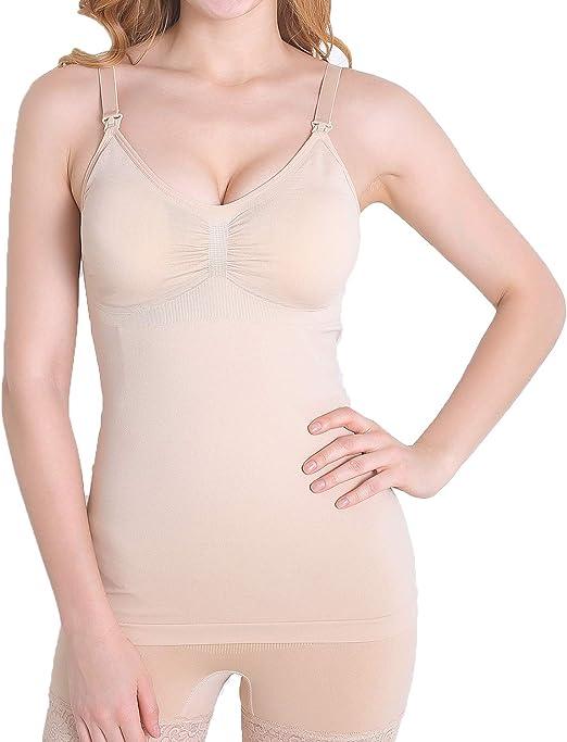 Aibrou Damen 1er Pack Still-BH Schwangerschaft Still BHS ohne B/ügel Nahtlose Umstands BH Unterw/äsche Maternity