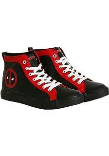 fea741aa8c8 Deadpool Logo Shoe
