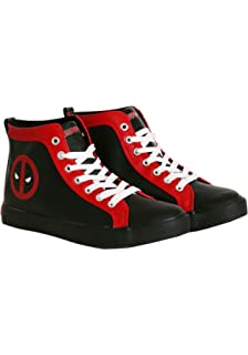 f475ccf891 Deadpool Logo Shoe