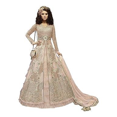 86d5f218a Designer Heavy Work Bridal Long Anarkali Salwar kameez Suit Bridal ...