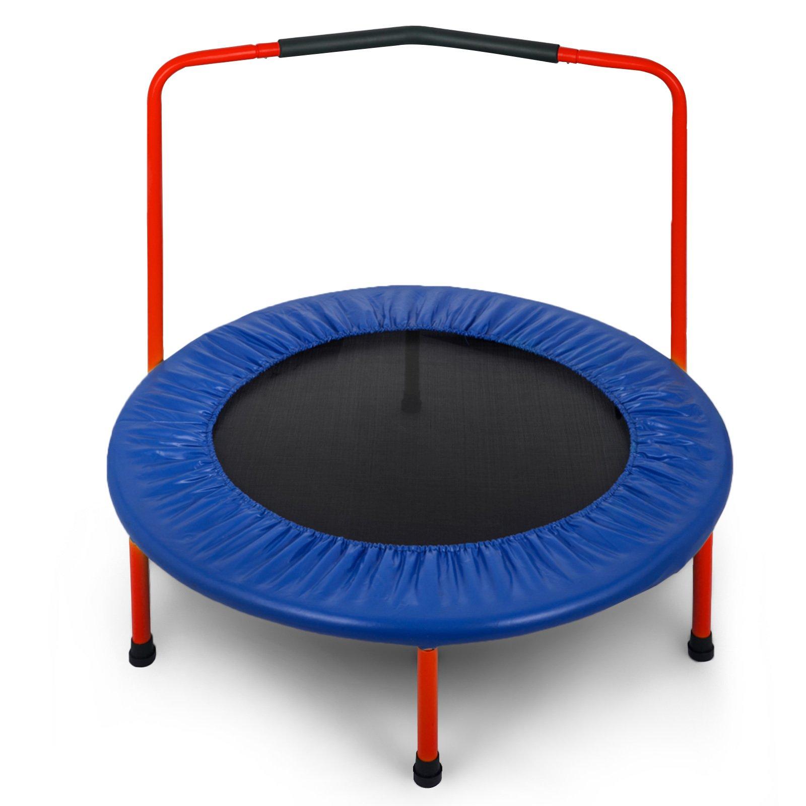 Popsport 36 40 50 4 Inch Mini Trampoline 220 330 Lbs