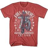 Evel Knievel - Mens Seventy Five! T-Shirt
