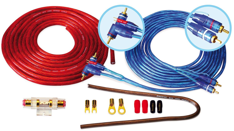Sinustec BCS Amplificateur 1600 Set de câ ble pour voiture 16 mm2 Profihifi Vertriebsgesellschaft mbH 14000