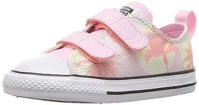 2e41f95c61e04a Converse Kids  Chuck Taylor All Star 2V Palm Trees Low Top Sneaker