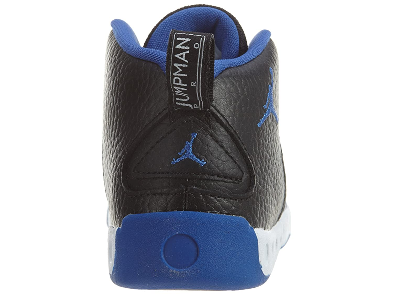 Jordan Boy's Jumpman Pro Basketball Shoes B00CS5N4WG 10 M US Toddler|Black Varsity Royal S