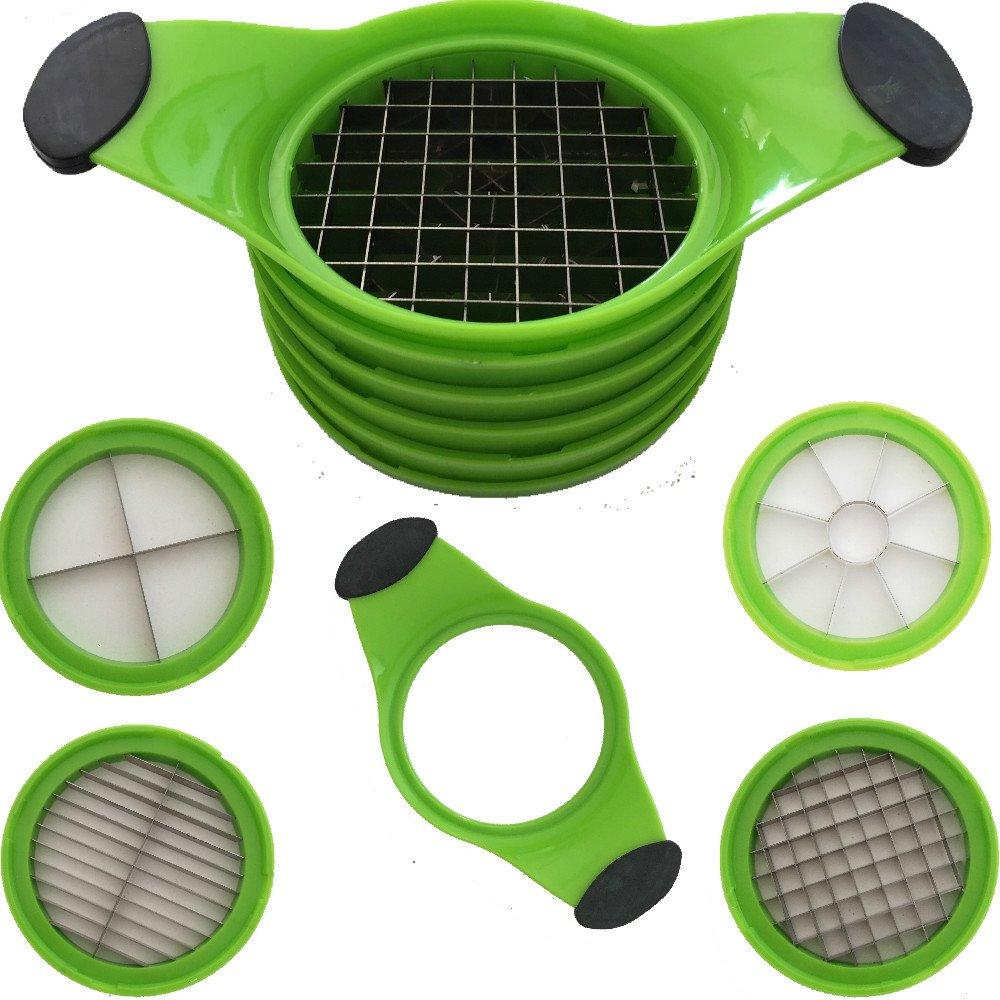 Chopper Cutter 4in 1Size Slicer Vegan Vegetables Fruit Cutter [Energy Class A+++] Tech Star