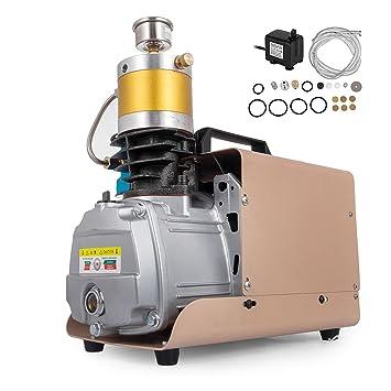 Mosaical 30MPa 4500PSI Bomba de aire eléctrica de alta presión 220 V bomba de aire compresor ...