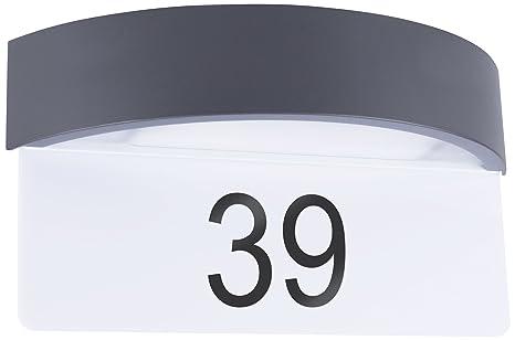 Applique 704 5000 Murale Capteur Journuit Smartwares De Numéro HE2WDI9