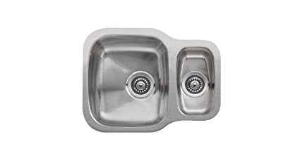 Amazon.com: Reginox Nebraska Underbuild Stainless Steel Kitchen Sink ...