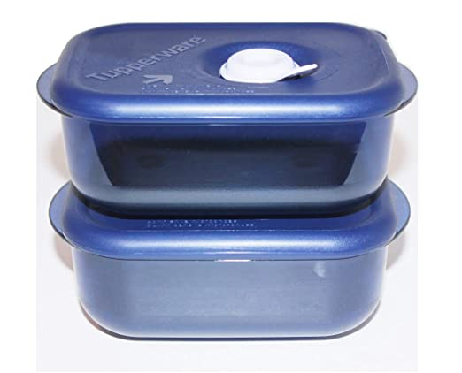 Tupperware Vent N Serve - Juego de 2 recipientes rectangulares ...