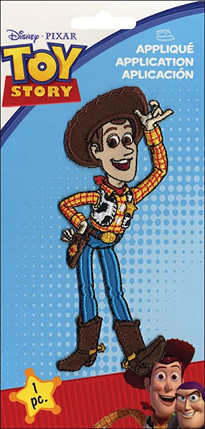 Amazon.com: Disney Toy Story Hierro Sobre applique-woody 2 ...