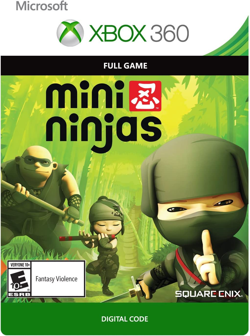 Amazon.com: Mini Ninjas Adventures - Xbox 360 Digital Code ...