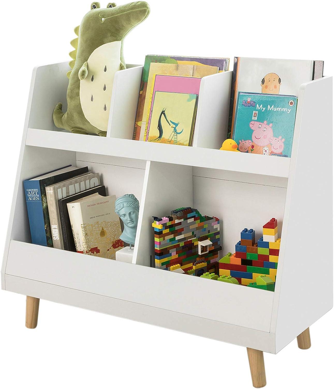Sobuy Libreria Montessoriana Per Bambini Scaffale Portagiochi Portariviste L63 P30 A70 Cm Kmb19 W Amazon It Casa E Cucina