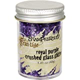 Stampendous Glass Glitter 1.4  Ounce-Royal Purple