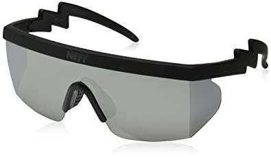 38243cd135 Amazon.com  Neff Brodie Wrap Around Sport Sunglasses  Clothing